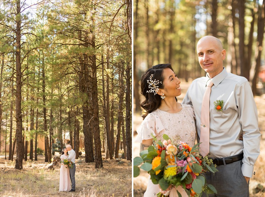 Becca and Tim: Thornagers Flagstaff Elopement Photography 07