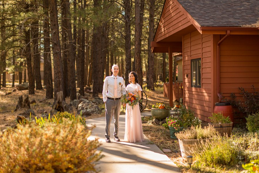 Becca and Tim: Thornagers Flagstaff Elopement Photography 05
