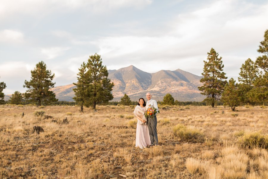 Becca and Tim: Thornagers Flagstaff Elopement Photography 017