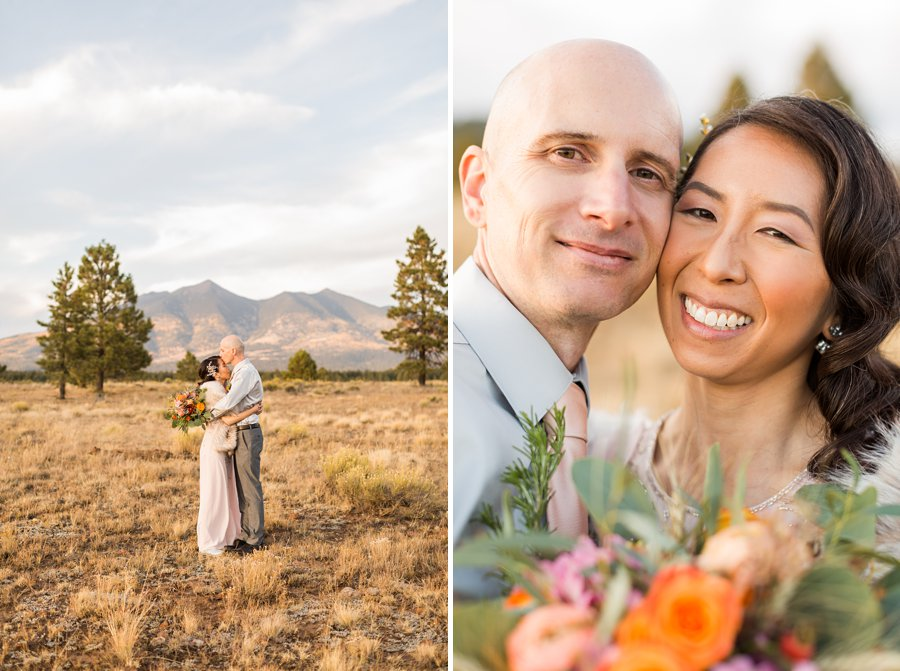 Becca and Tim: Thornagers Flagstaff Elopement Photography 022