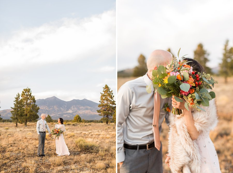 Becca and Tim: Thornagers Flagstaff Elopement Photography 025