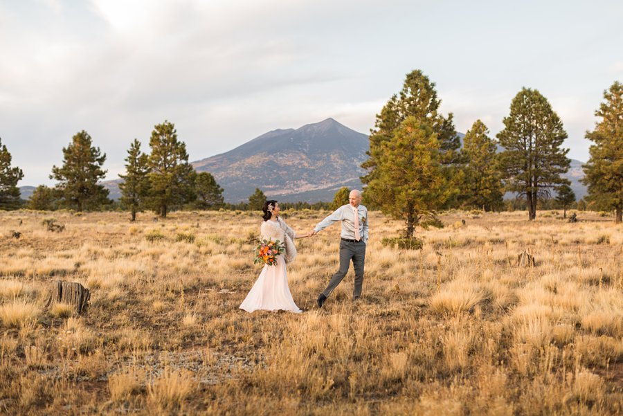 Becca and Tim: Thornagers Flagstaff Elopement Photography 026