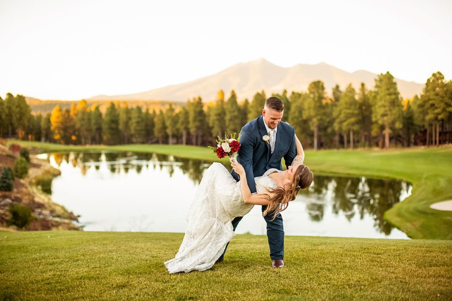 Jetta and Matt: Flagstaff Ranch Golf Club Wedding 0