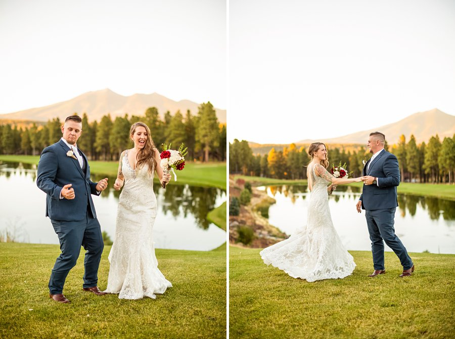 Jetta and Matt: Flagstaff Ranch Golf Club Wedding 02