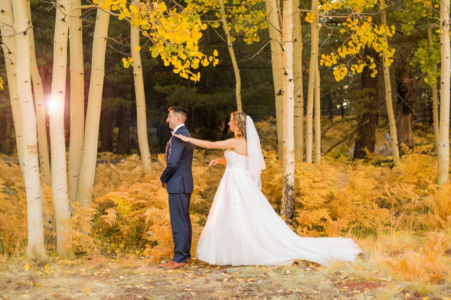 Karisa and Nick: The Nordic Center Flagstaff Wedding