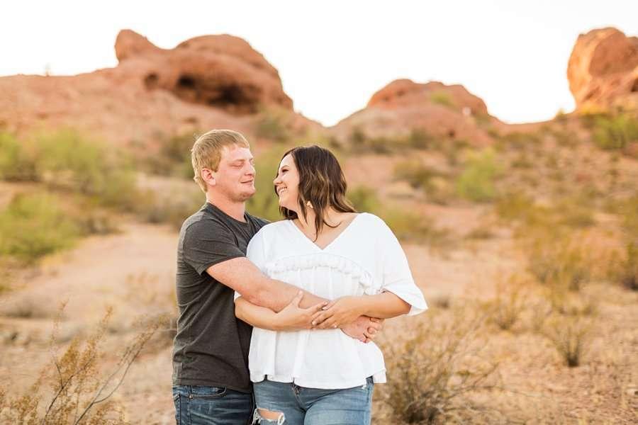 Leah and Trenten - Arizona Engagement Photographer 3