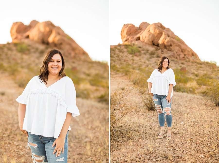 Leah and Trenten - Desert Couple Photography 2
