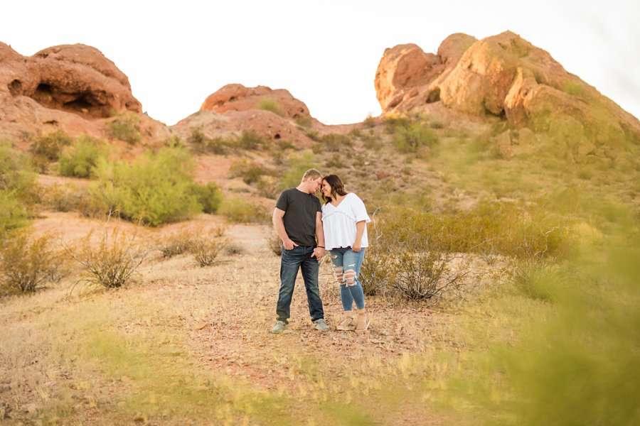 Leah and Trenten - Desert Couple Photography 3