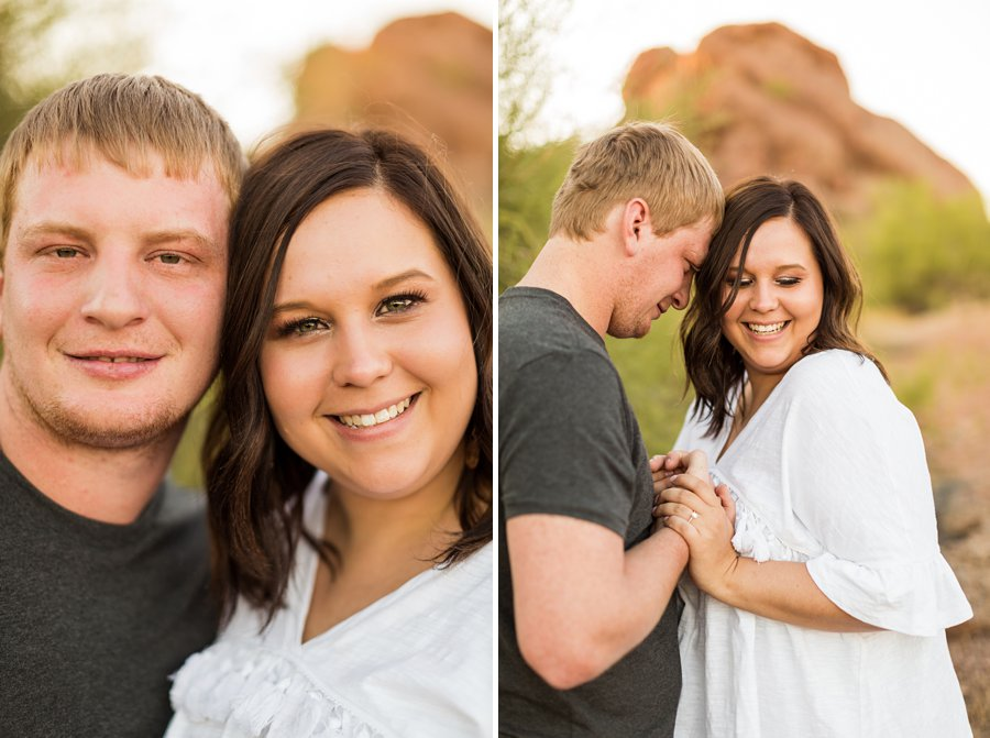 Leah and Trenten - Desert Couple Photography 4