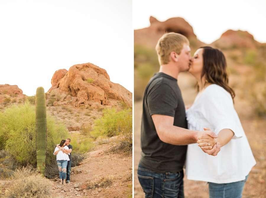 Leah and Trenten - Desert Couple Photography 5