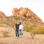 Leah and Trenten – Desert Couple Photography