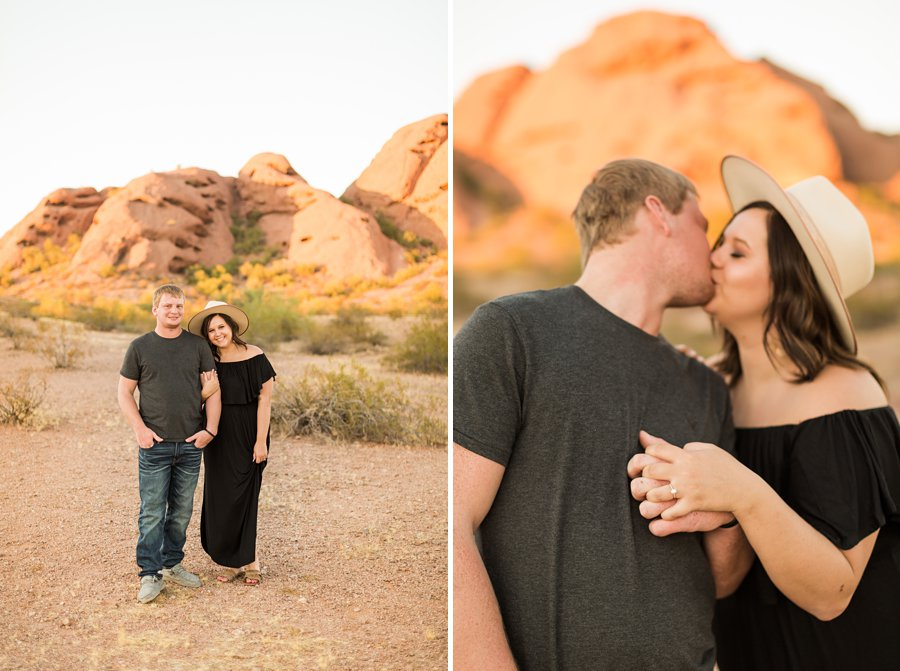 Leah and Trenten - Desert Couple Photography 9
