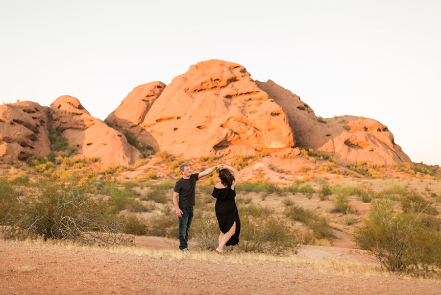 Leah and Trenten - Desert Couple Photography 12