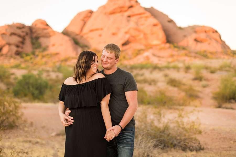 Leah and Trenten - Desert Couple Photography 13