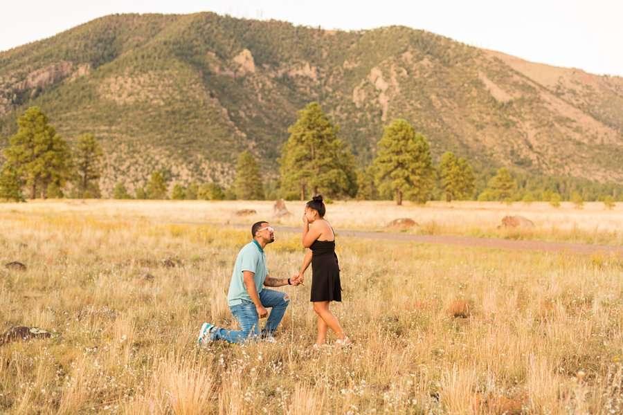 Lee Cruz - Flagstaff Sedona Proposal Photographer 1