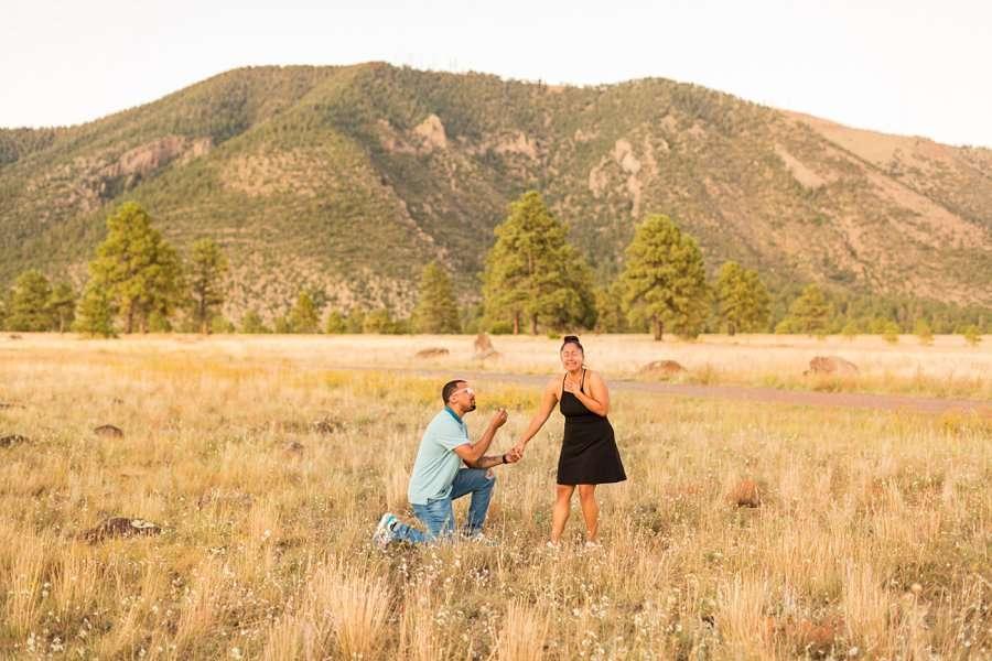 Lee Cruz - Flagstaff Sedona Proposal Photographer 2
