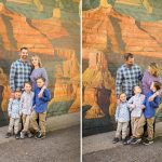 Downtown Flagstaff Family Photographer – Lewis-Duarte Family