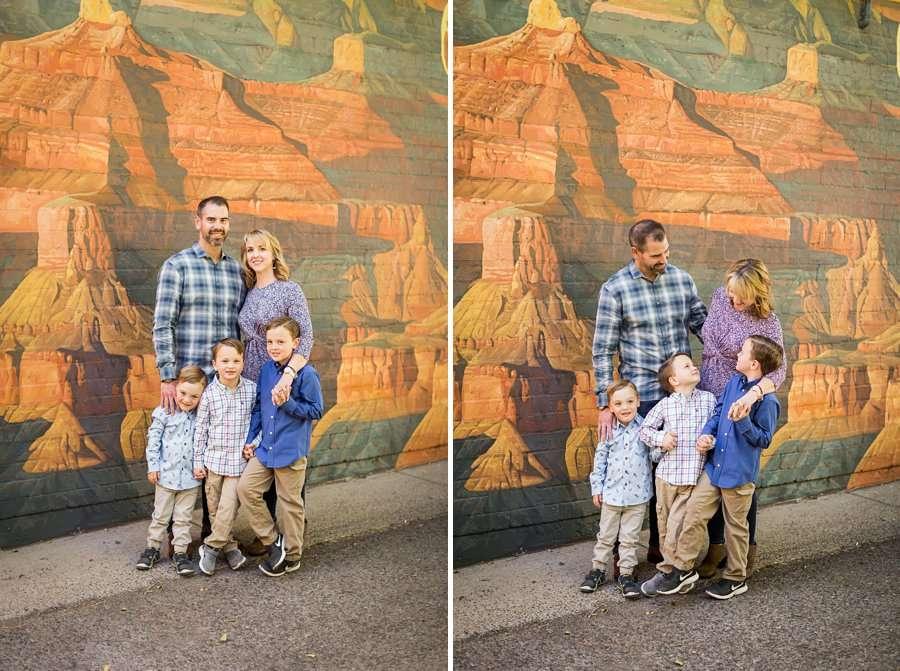 Lewis-Duarte Family - Downtown Flagstaff Family Photographer 1