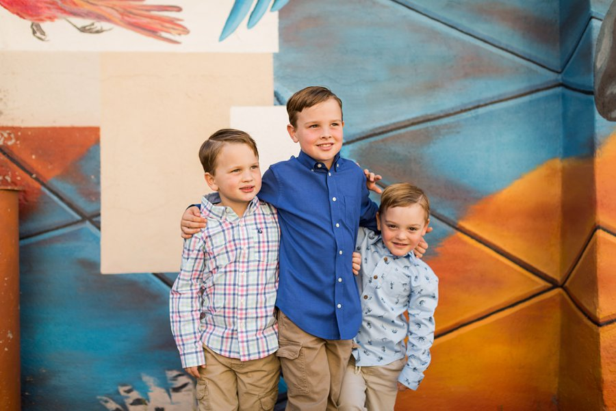 Lewis-Duarte Family - Downtown Flagstaff Family Photographer 3