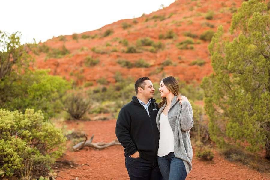 Marisa and Joseph - Proposal Photography Flagstaff 1