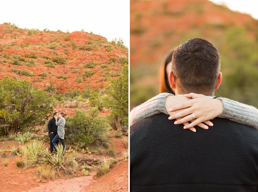 Marisa and Joseph - Proposal Photography Flagstaff 3