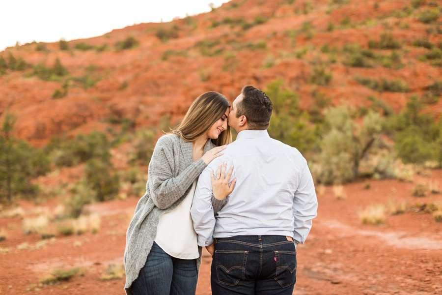 Marisa and Joseph - Proposal Photography Flagstaff 5