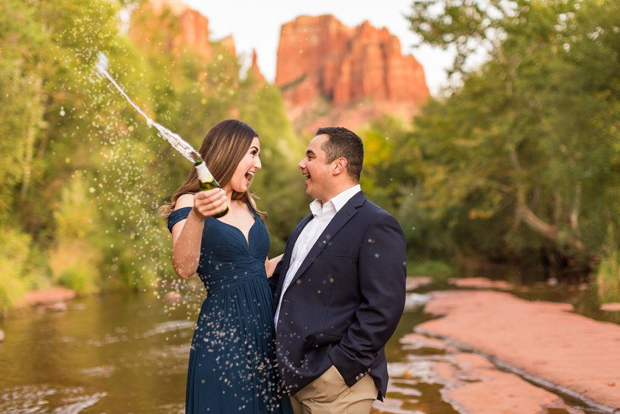 Marisa and Joseph – Proposal Photography Flagstaff