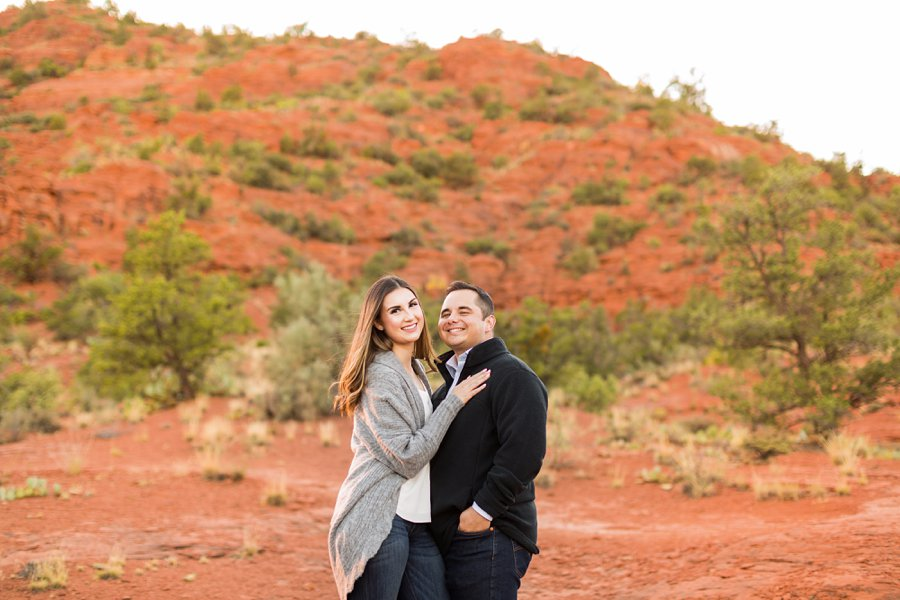 Marisa and Joseph - Engagement and Portrait Photographer Sedona AZ 1