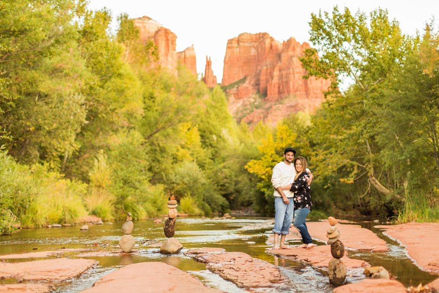 Melissa and Thomas - Engagement and Portrait Photographers Sedona AZ 1