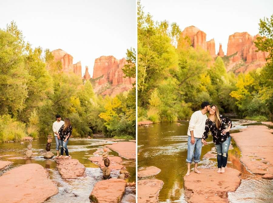 Melissa and Thomas - Engagement and Portrait Photographers Sedona AZ 5