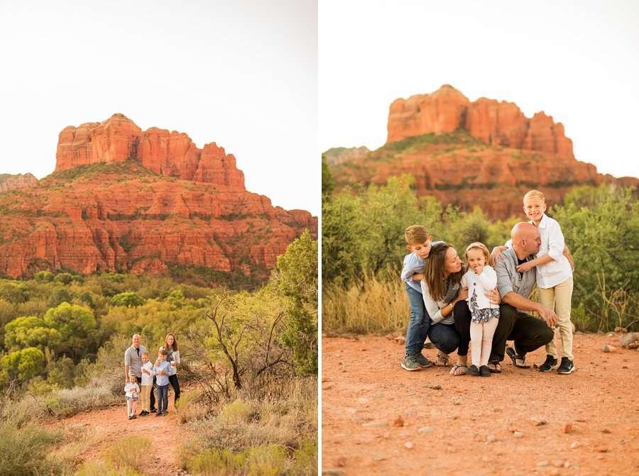 Perkins Family - Sedona Family Portrait Photography 1