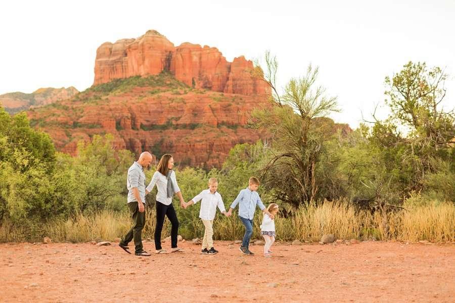Sedona Family Portrait Photography – Perkins Family