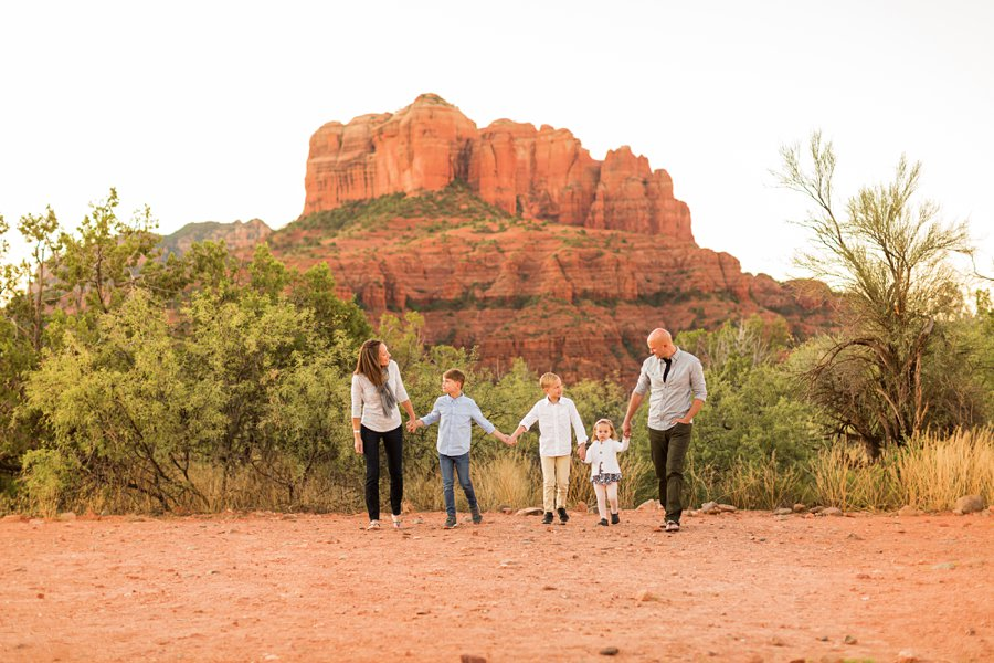 Perkins Family - Sedona Family Portrait Photography 3
