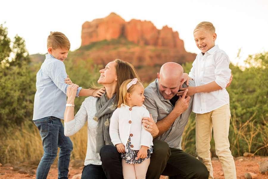 Perkins Family - Sedona Family Portrait Photography 4