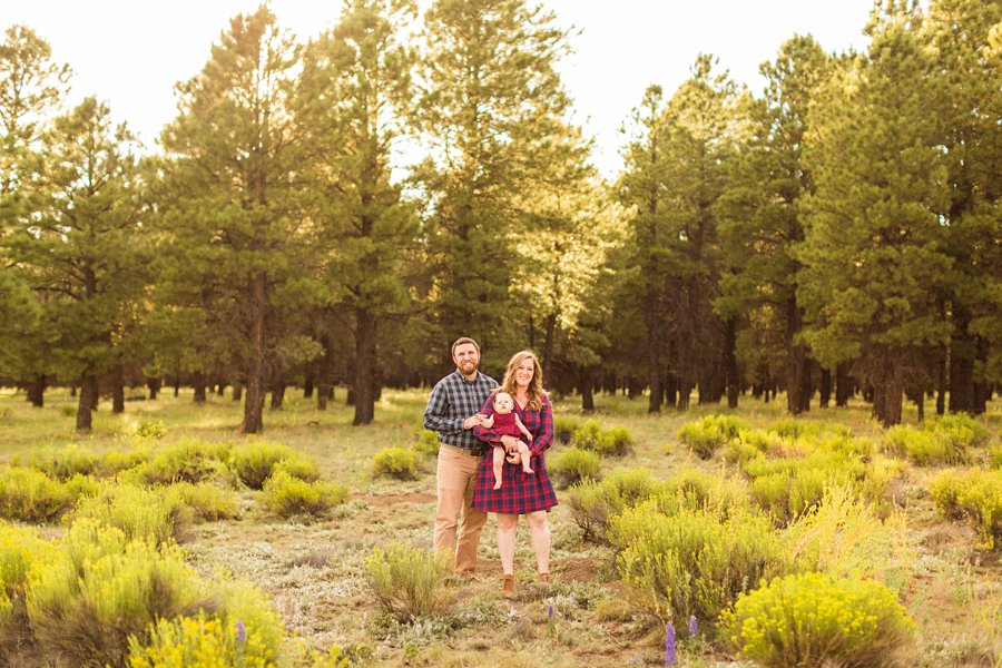 Puffer Family - Flagstaff Arizona Wildflower Family Photography 2