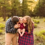Flagstaff Arizona Wildflower Family Photography – Puffer Family