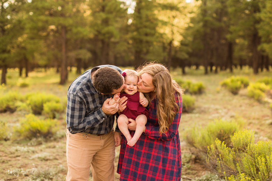 Puffer Family - Flagstaff Arizona Wildflower Family Photography 3