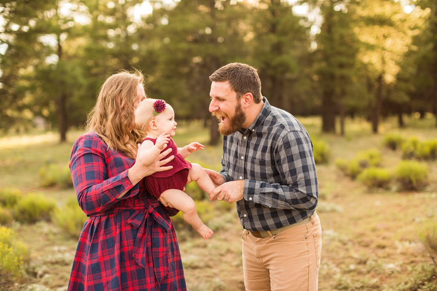 Puffer Family - Flagstaff Arizona Wildflower Family Photography 4