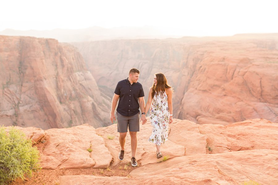 Ryan and Rachael - Horseshoe Bend and Grand Canyon Proposal Photographer 4