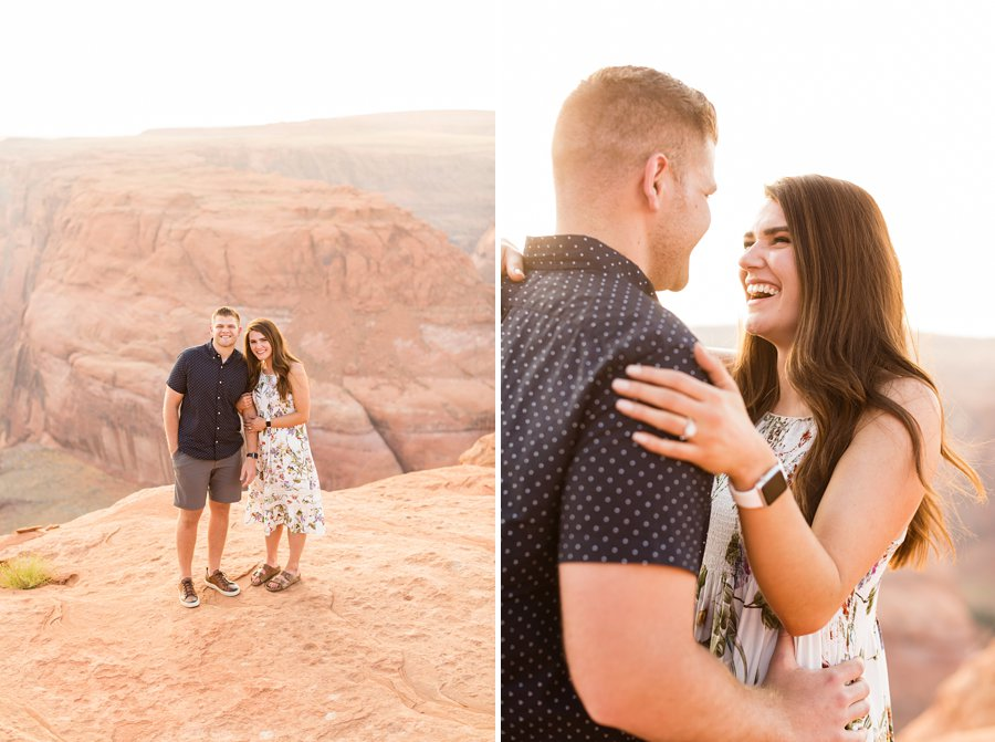 Ryan and Rachael - Horseshoe Bend and Grand Canyon Proposal Photographer 5