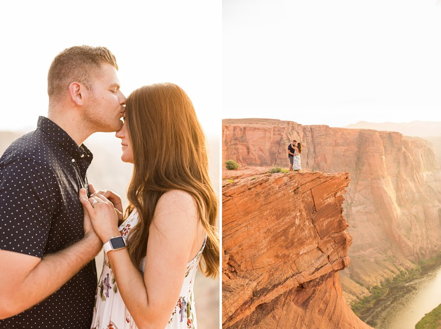 Ryan and Rachael - National Park Engagement Photographer 1