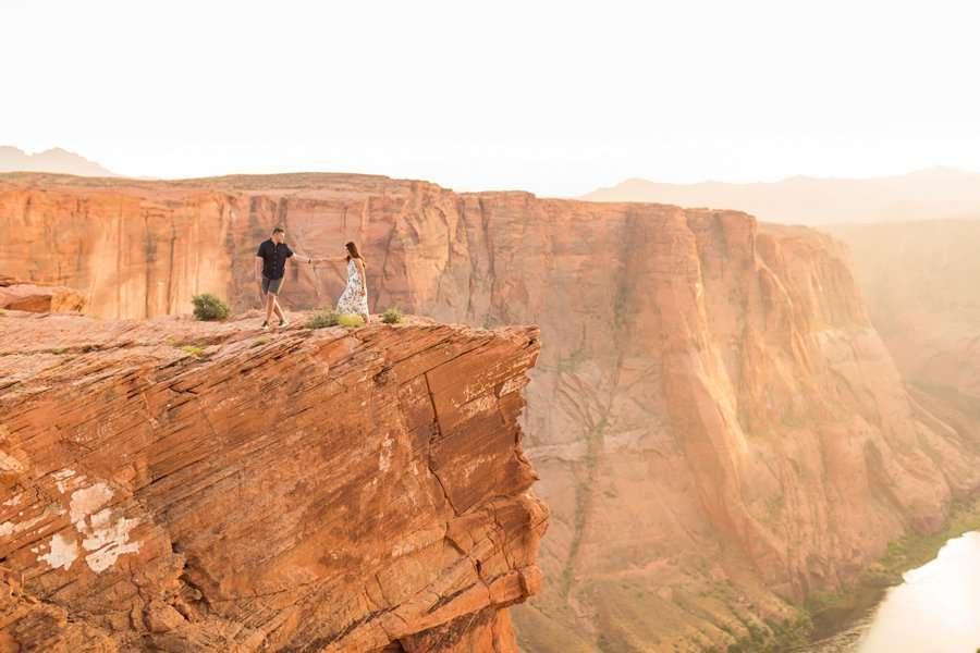 Ryan and Rachael - National Park Engagement Photographer 11