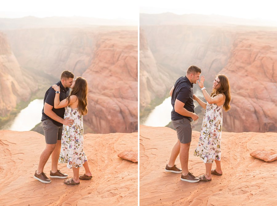 Ryan and Rachael - Horseshoe Bend and Grand Canyon Proposal Photographer 3