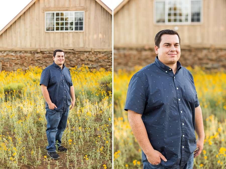 Sahara and Mike - Northern AZ Wildflower Portrait Photographer 4