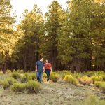 Sahara and Mike – Northern AZ Wildflower Portrait Photographer