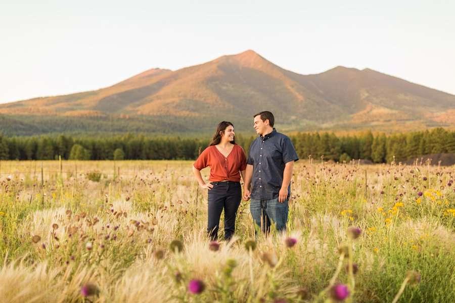 Sahara and Mike - Northern AZ Wildflower Portrait Photographer 11