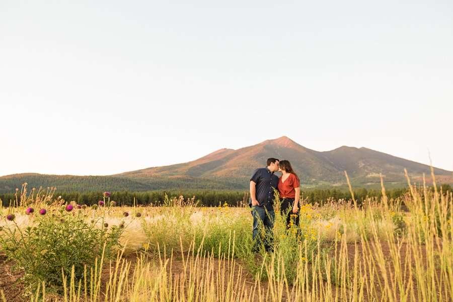 Sahara and Mike - Northern AZ Wildflower Portrait Photographer 14