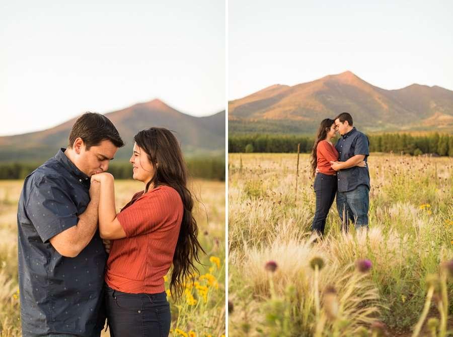 Sahara and Mike - Northern AZ Wildflower Portrait Photographer 15