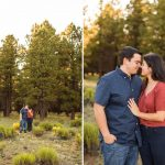 Flagstaff Arizona Sunflower Engagement Photography – Sahara and Mike