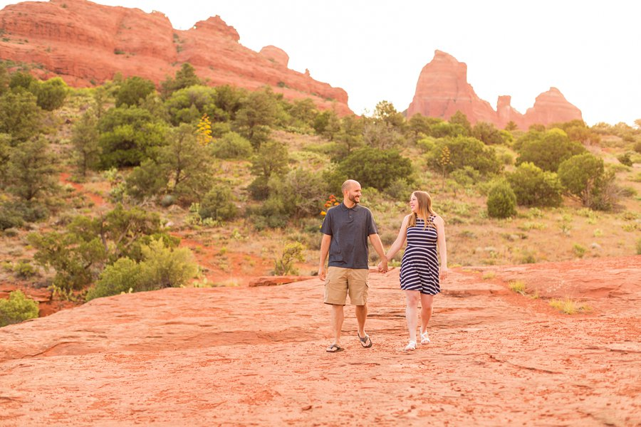 Sam and Tom - Engagement Photographers Sedona Arizona 1